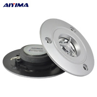 AIYIMA 2Pcs Audio Portable Speakers 4Ohm 10W HiFi Tweeter HiFi Titanium Film Oxy