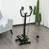 Stepper Training Rope Home Office Exercise Fitness Handle Bar Machine Bands