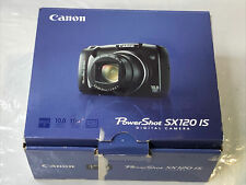 Canon PowerShot SX120 IS 10MP Digital Camera with 10x Optical Zoom Black -