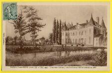 cpa French Castle ROMILLY SUR SEINE (Aube) Ancien CHÂTEAU de 1725 démoli en 1853