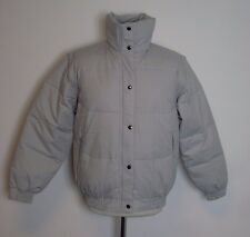 Ellis Brigham Super Down Ski Jacket Grey Zip Off Sleeves Size 40 Medium Box34 15