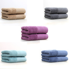 Soft Bath Towels 5-Piece Towels for Bathroom Absorbent Bath Sheet 13 * 29 inches