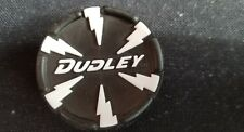 white Dudley lightning softball bat end cap senior