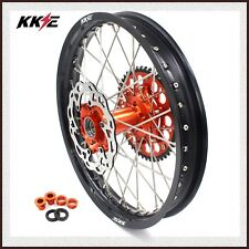 KKE 2.15*18 ENDURO REAR WHEEL RIM FOR KTM EXC EXC F 125 200 250 300 450 500 DISC