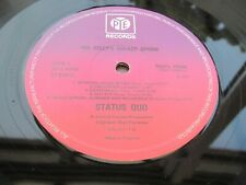 Status Quo MA KELLY'S GREASY SPOON 1972 UK LP Pink Mauve Pye  MINT MINUS 1 PLAY