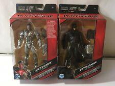 DC Multiverse- Justice League- Batman & Cyborg -C-N-C  3 Mother boxes MINT NEW