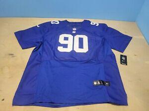 Nike NFL New York Giants #90 Jason Pierre-Paul On Field Jersey SZ 60