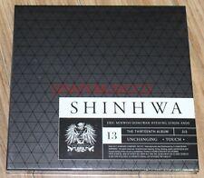 SHINHWA 13TH UNCHANGING - TOUCH CD + PHOTOBOOK SEALED