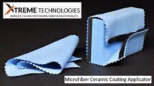 LIQUID GLASS CERAMIC CAR COATING XTREME NANO MICROFIBER APPLICATOR WITH 2 CLOTHS