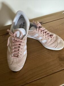 Adidas gazelle Trainers Ladies Pink Uk7