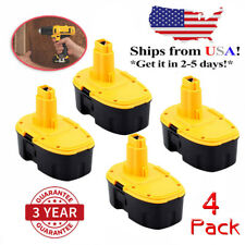 4PCS 18V 3.0Ah XRP Battery For DeWALT DC9096-2 DC9099 DW9095 DE9095 DC9099 Tools