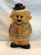 "Collectible Vintage Charlie Chaplin Cookie Jar Made In Japan 11-1/2"" Tall"