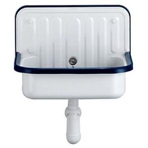 Alape KLASSIKER WALL BASIN 510x360mm Waste & Overflow Kit WHITE *German Brand