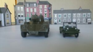 Two Military Toy Vehicles