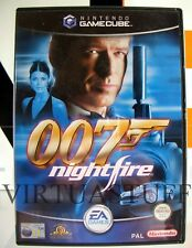 007 Nightfire, Gamecube, Nintendo, ITA, EURO PAL, completo, excellent condition!
