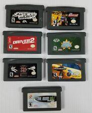 Nintendo Game Boy Advance: Lot of 7 Games
