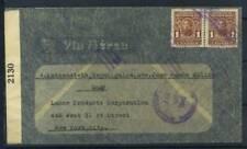 Honduras 1942 Busta 100% Tegucigalpa New York Via Aerea