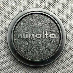 Minolta Genuine Original Vintage 57mm Front Lens Cap  fits over 55mm filter