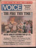 The Village Voice NYC September 3 1985 Nelson Mandela Nadine Gordimer 012120AME2