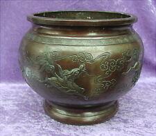 Alter Bronze Topf China 19 Jahrhundert Qilin