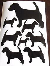 Jack Russell Terrier vinyl stickers/ car decals/ window decals