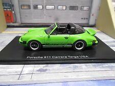 PORSCHE 911 Carrera 2.7 Entenbürzel Targa USA grün green NEO Resine SP 1:43