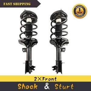 Auto Shocks 334501 334500 AUTOMUTO Absorber Kit 2x Front Shock Absorber fits 2001-2006 Hyundai Santa Fe