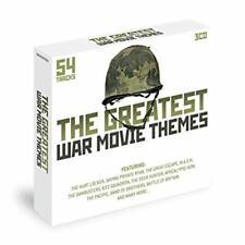 Various -The Greatest War Movie Themes  3 CD Box Set 54 Tracks NEW/SEALED