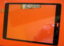 "TOUCH SCREEN + VETRO PER SAMSUNG GALAXY TAB A 9.7"" SM-T555 NERO DISPLAY LCD"