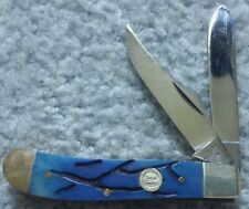"""Frost Cutlery Bullet Trapper Blue Worm Groove 3 1/2"""" (Discontinued)"""