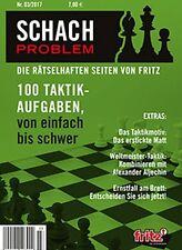ChessBase: Schach Problem - Die rätselhaften Seiten von Fritz  - Nr. 03 / 2017