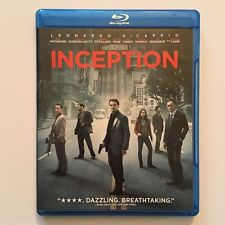 INCEPTION Christopher Nolan (Blu-ray/DVD, 2010, 3-Disc Set) -- No Digital Code