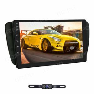 GPS NAVI 2GB+32GB 9'' Android 10 Autoradio USB BT DSP für Seat Ibiza 2009 - 2013