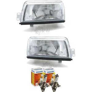 Headlight Set Daihatsu Charade G100 03.87-12.92 H4