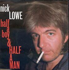 7inch NICK LOWE half a boy & half a man HOLLAND EX +PS 1984