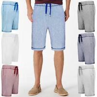 MENS SHORTS SWEAT JOGGER SUMMER POCKET JOGGING SPORTS RUNNING GYM PANTS S-2XL