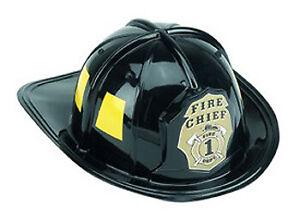 Jr. Firefighter Helmet - Black