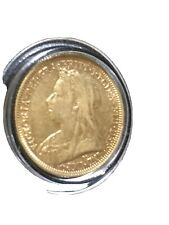 More details for 1894-queen victoria widow head gold sovereign high grade.