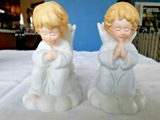 R.O.C. Angel Figurines Candle Holders Praying Angels Taper Holder