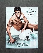 H600 - Advertising Pubblicità -2013- JEAN PAUL GAULTIER , LE BEAU MALE , PARFUM