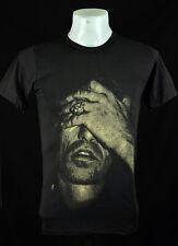 Dark Grey T-Shirt Keith Richards 100% cotton Retro Indy Punk Rock Size L