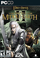 Lord of the rings battle for middle earth 2 For PC Disc 1-5 ONLY ! READ DESC !