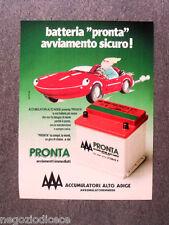 N750 - Advertising Pubblicità - 1991 - AAA PRONTA , AVVIAMENTO SICURO