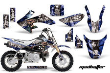 AMR RACING GRAPHIC STICKER DECAL MOTO DIRTBIKE HONDA CRF50 CRF 50 MADHATTER BLUE