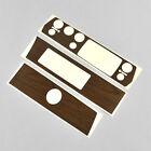 DMT Mopar 72-74 A Body Non Rallye Dash Woodgrain Overlay Vinyl Sticker - STYLE 2