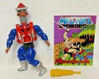 Mek-A-Neck  MOTU He-Man Masters of the Universe Complete Figure Comic Book Sword
