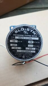 Synchronous Stepping motor-Superior Electric 120V SS25-111OU 1974