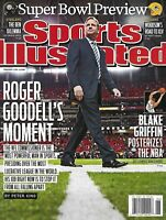Sports Illustrated Magazine Super Bowl Preview Roger Goodell Blake Griffin 2011