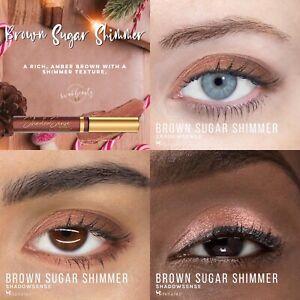 BROWN SUGAR SHIMMER ShadowSense SeneGence Creme to Powder Eyeshadow Full Size
