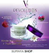 V2 REVOLUTION WONDER NIGHT WHITENING FIRMING NIGHT CREAM 15ml+TRACK